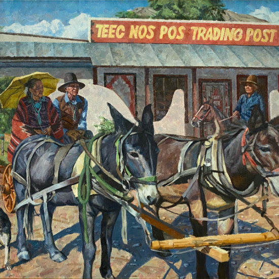 Hyrum Joe - A Day at Teec Nos Pos Trading Post