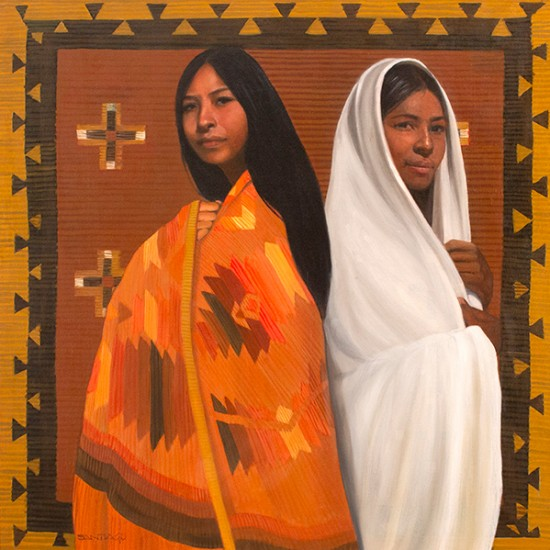 Roseta Santiago - Weavers and Daughters I