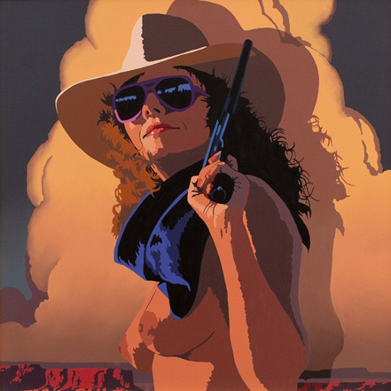 Billy Schenck - Study for Chingona