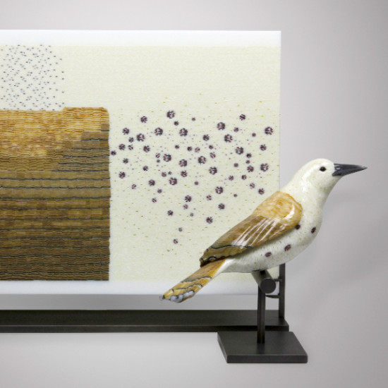 Marc Petrovic - Avian Deconstruction Tablet and Bird Pair