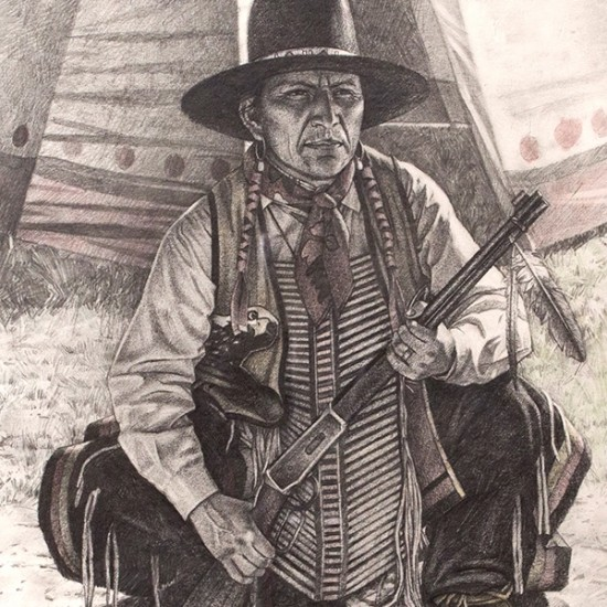 Hyrum Joe - Protector of the Southern Ute Tribe