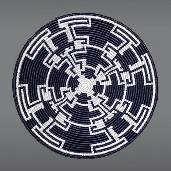 Evelyn Cly - Navajo Basketry Tray