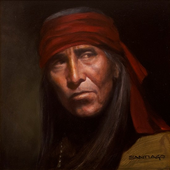 Roseta Santiago - Portrait of an Apache