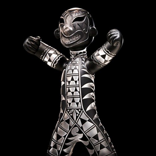 Preston Singletary and Harlan Reano Collaboration - Circus/Warrior Figure
