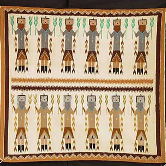 Unspecified Artists - Navajo Pictorial Textile