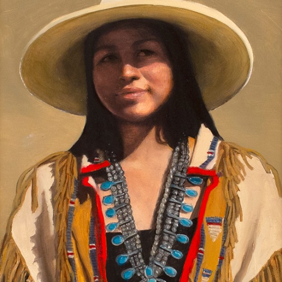 Roseta Santiago - Ty in a White Hat