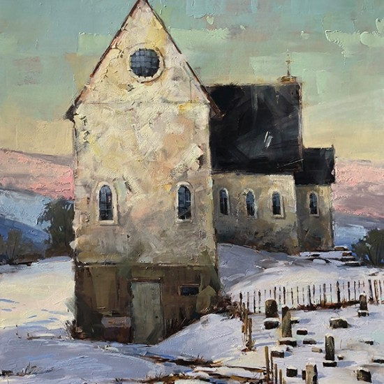Matthew Sievers - Snowy Church