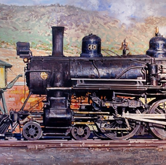 Santiago Michalek - Steam Engine Train
