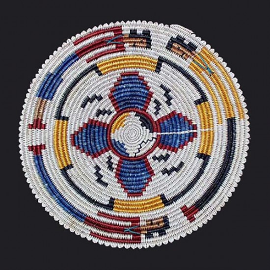 Agnes Gray - Navajo Basketry Tray