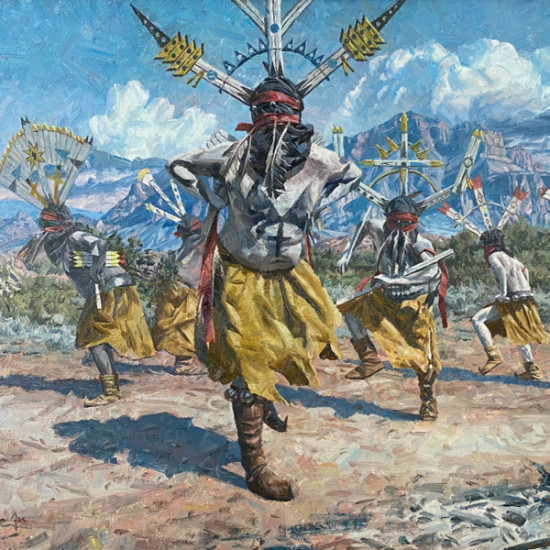 Hyrum Joe - Spirit of the San Carlos Apache Dancers