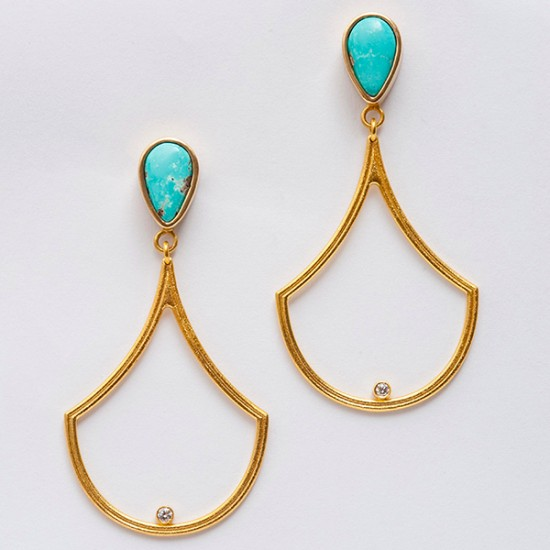 Maria Samora - Gryphon Earrings (2)