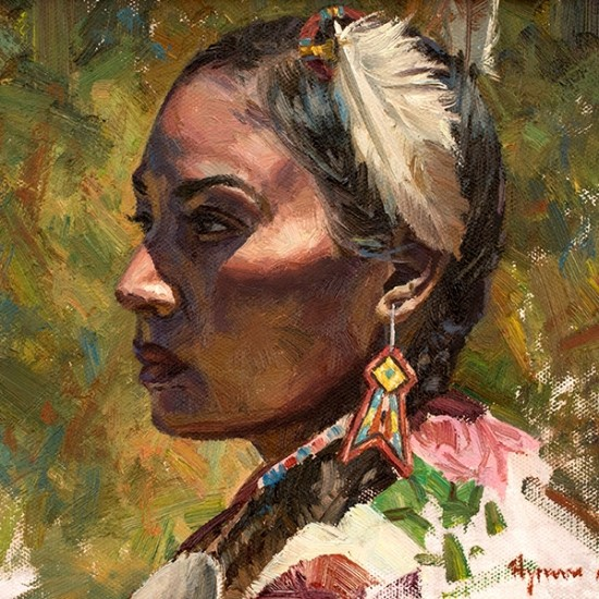 Hyrum Joe - Shoshone Girl