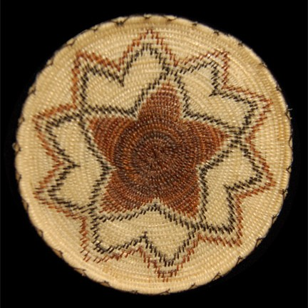 Unspecified Artists - Pima Miniature Horsehair Basketry Tray