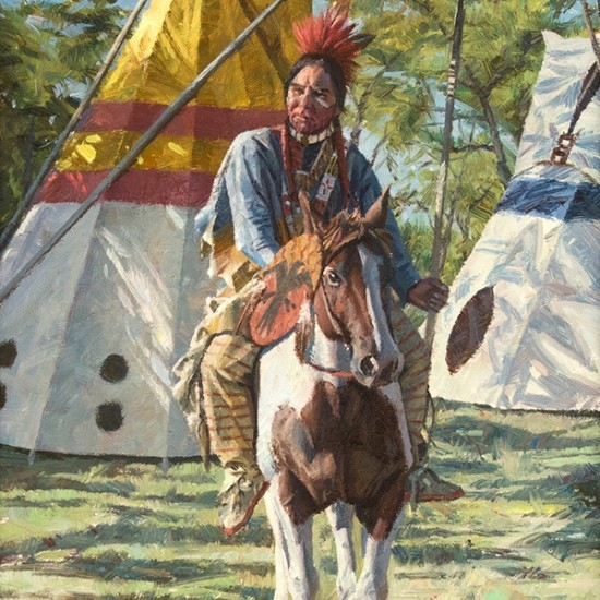 Hyrum Joe - Protector of the Dakota Sioux Camp