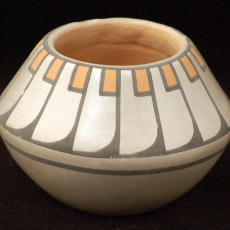 Blue Corn - Polychrome Pottery Jar