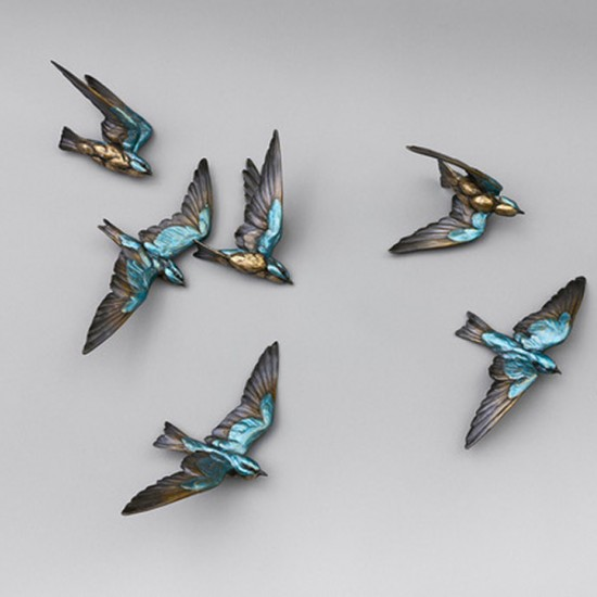 Bryce Pettit - Swallows (Latitude Series) (Bronze)