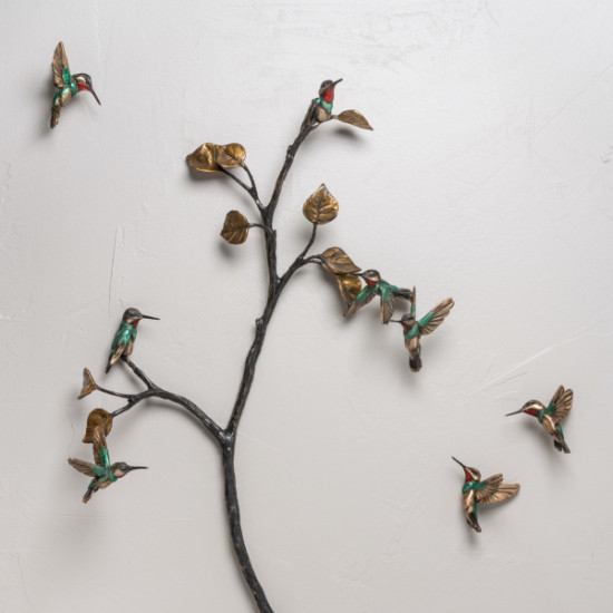 Bryce Pettit - Latitude series (hummingbirds large grouping)