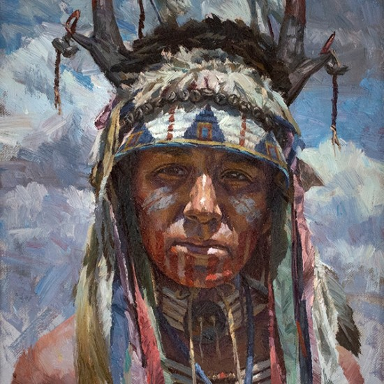 Hyrum Joe - Cheyenne War Paint