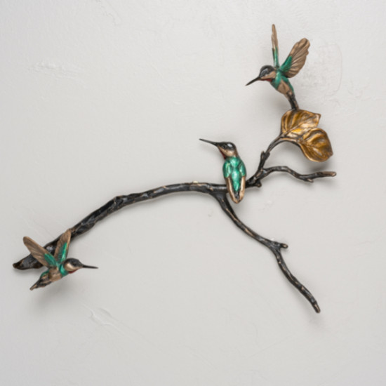Bryce Pettit - Latitude series (hummingbirds small grouping)