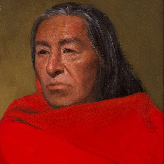 Roseta Santiago - Portrait of Tony in Santa Fe