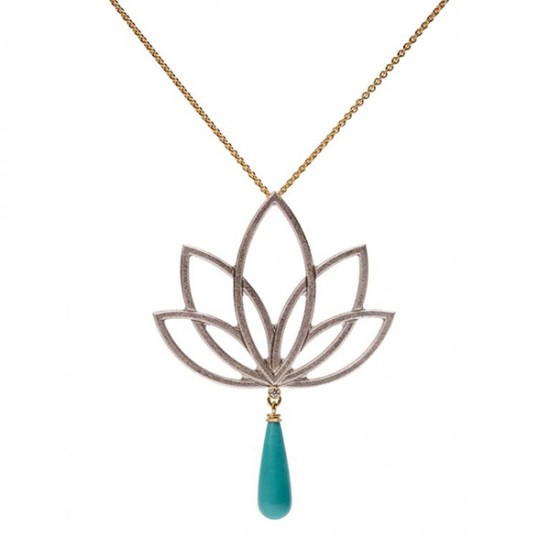 Maria Samora - Lotus Necklace