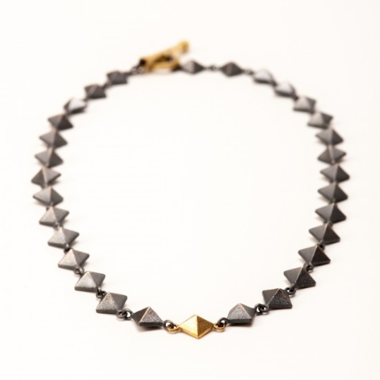 Maria Samora - Pyramid Necklace