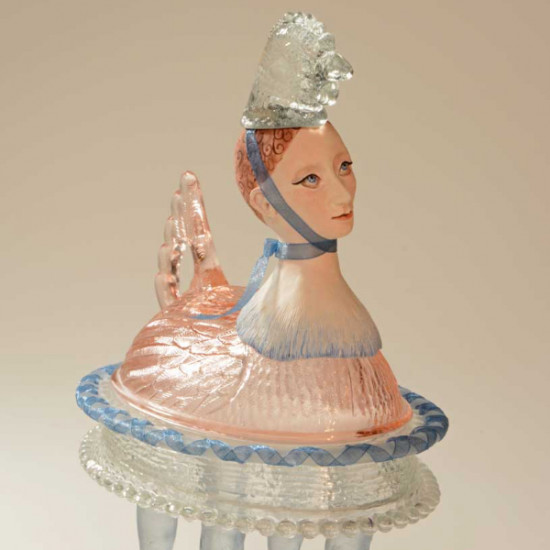 Susan Taylor Glasgow - Happy Hen Tea Pot
