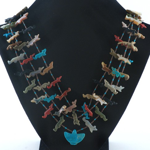 Unspecified Artists - Fox Fetish Necklace