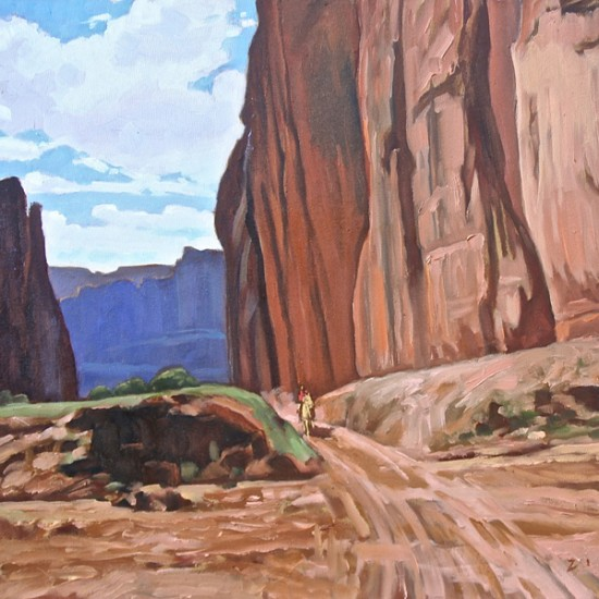 Dennis Ziemienski - Dry Creek Bed, Canyon de Chelly