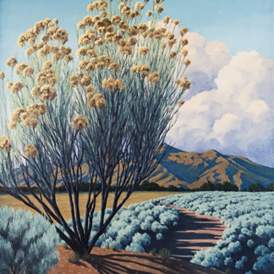 Doug West - August Taos Chamisa