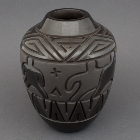 Harrison Begay - Carved Blackware