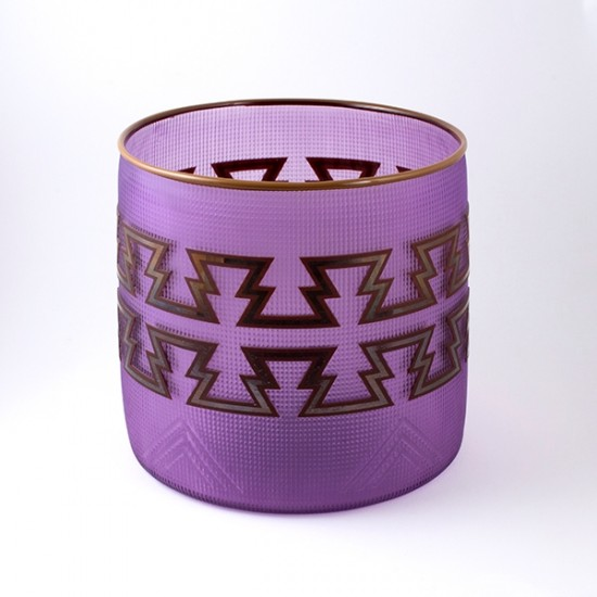 Preston Singletary - Light Purple/Cedar Basket