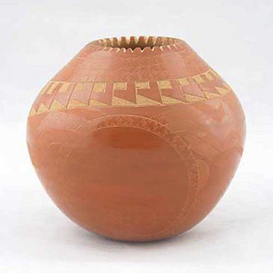 Unspecified Artists - Redware Pottery Jar