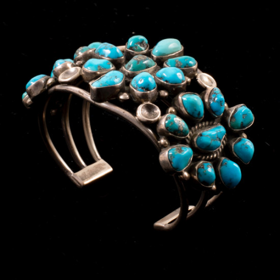 Unknown - Silver and Jewelry Bracelet