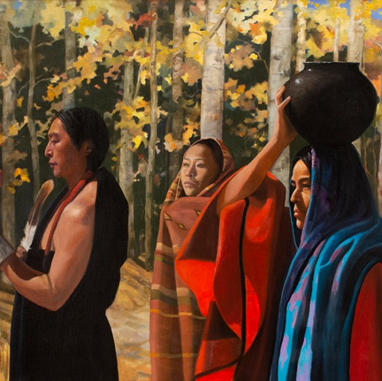 Roseta Santiago - Journey Through a Martin Hennings Painting