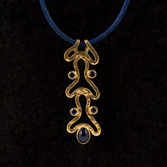 Lina Amariglio Weiss - In Motion Necklace (Sapphire)