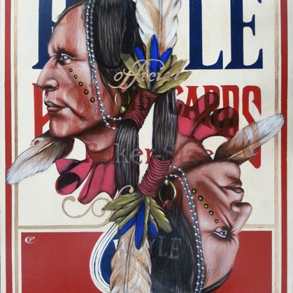 Chris Pappan - The Indian According to Hoyle 2